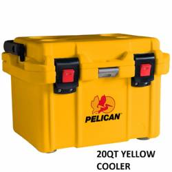 Pelican 20QT Yellow Ice Chest Cooler